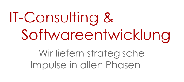IT-Consulting und Softwareentwicklung - Wir liefern Impulse in allen Phasen